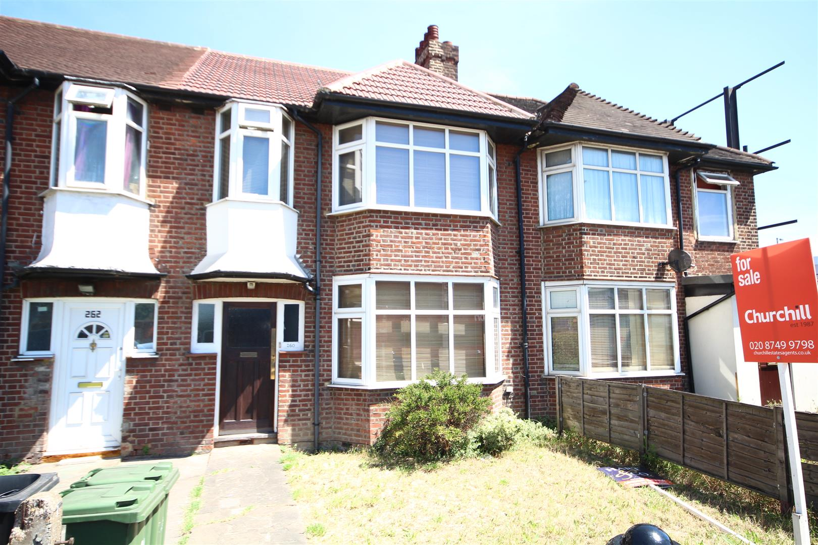 4 Bedrooms Terraced House for sale in Western Avenue, London
